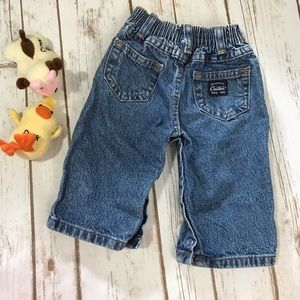 Baby Jeans 6 Months Snap Legs